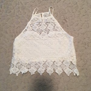 Tops - Lacy Tank Top